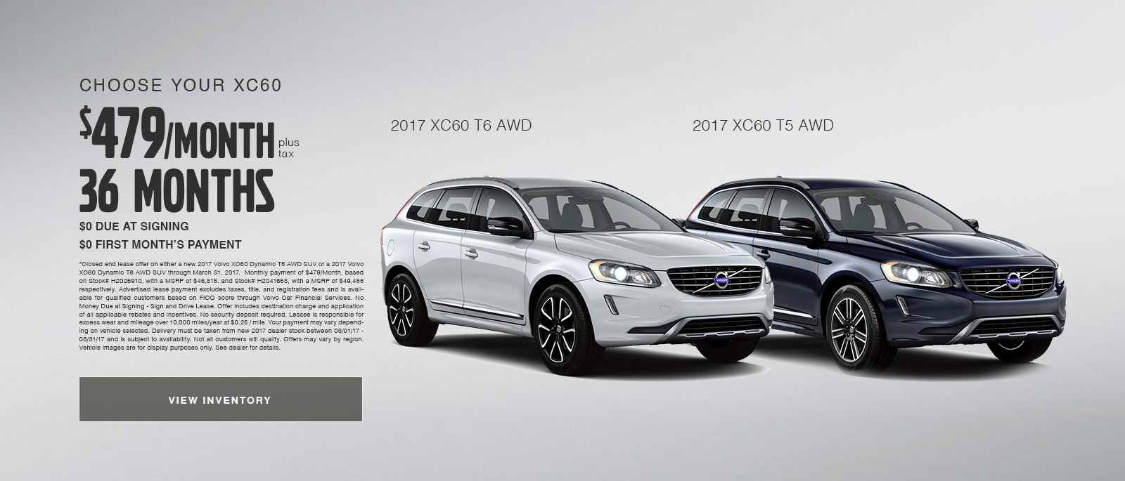 Choose your Volvo XC60 At Volvo Cars Cincinnati East